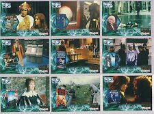 DOCTOR WHO SI 1963-2003 MERCHANDISE 9 CHASE CARD LOT #F2 4 8 9 10 11 12 13 14
