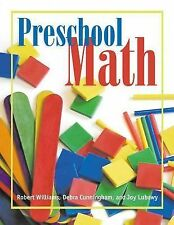 Preschool Math, Lubawy, Joy, Williams, Robert A, New Book