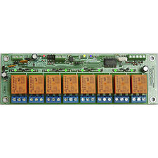 STR1080400 RS-485 board controller 8 Outputs 4 Inputs 5V Relays Home Automation
