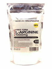 1.1 lb 500g Free Form L-Arginine Powder Pharmaceutical Kosher Muscle Cardio