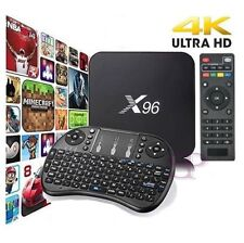 X96 S905X Smart TV BOX Android 6 Quad Core 2GB RAM 16GB ROM Game Box Keyboard 4K