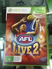 AFL live 2 xbox 360