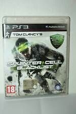 SPLINTER CELL BLACK LIST GIOCO USATO OTTIMO SONY PS3 ED ITALIANA PAL SC1 40914