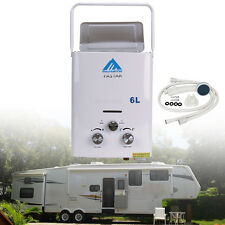 2 GPM Portable Tankless Hot Water Heater RV's & Campers Propane Gas LPG 6L