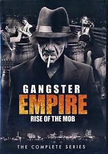 NEW 2DVD SET // Gangster Empire: Rise of the Mob // AL CAPONE, LUCKY LUCIANO,