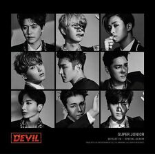 SUPER JUNIOR  [ DEVIL ] POSTER - Poster in Tube(POSTER ONLY)