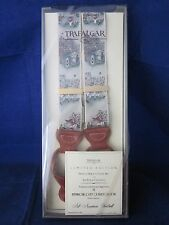 TRAFALGAR Silk Suspenders Braces All American Football LE 1990s NEW in BOX