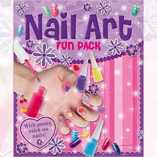 Nail Art Activity Book By Igloo Books Ltd, NEW Paperback 9781781979907