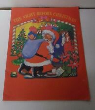 1989 Night Before Christmas - Visit to Santa Giveaway Booklet