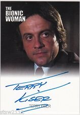 THE COMPLETE BIONIC COLLECTION TERRY KISER MATTHEWS AUTOGRAPH VL BIONIC WOMAN