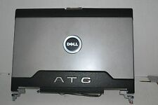 OEM Dell Latitude D620 D630 ATG LCD Lid w/ Hinges KN769 0KN769 GRADE C