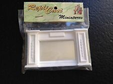MN30b Panel Overmantle with Mirror Plaster RepliCast Miniatures Dollshouse
