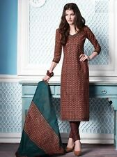 Elegant Cotton Printed Unstitched Dress Material Salwar Suit D.No SU3302