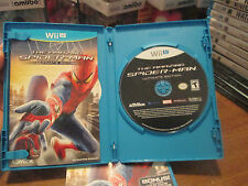 The Amazing Spider-Man -- Ultimate Edition (Nintendo Wii U, 2013) COMPLETE RARE