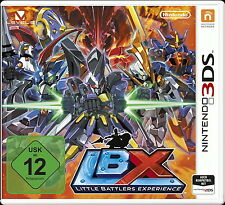 LBX Little Battlers Experiences - Nintendo 3DS- deutsch - Neu / OVP