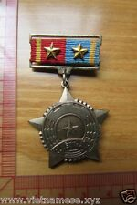 Vietnam war  Authentic VC NLF  First Class Determine To Win Chest Medal