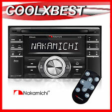 NEW NAKAMICHI NA788 CD USB SD BLUETOOTH CAR RADIO AUDIO HEAD UNIT DOUBLE DIN