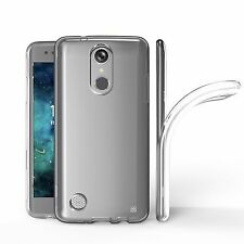 Soft Transparent Clear Glossy TPU Skin Gel Cover Case for LG Aristo LV3 MS210