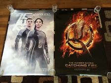 The Hunger Games Catching Fire Original Movie Poster 27x40 Double Sided Set Of 2