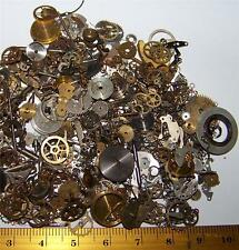 15g Lot Pieces Gears Wheels Steampunk Old Watch Part Vintage Warhammer Craft DIY