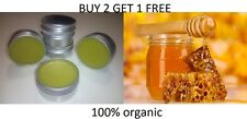 HONEY Beeswax ointment balm with Olive Oil - 100% organic, pure & natural 50ml