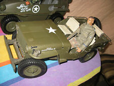 1941 Willys jeep 1/6 scale made by Hasbro
