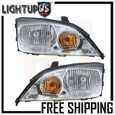 Headlight Headlamp Pair Left right set for 05-07 Ford Focus ZX4