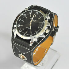 SOKI Black Analog Quartz Mens Wrist Watch