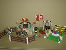 Playmobil Country 5224 Equestrian Horse Show & Stable Jumping