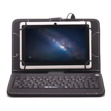 "iRulu 7"" HD Google Android 4.4 Tablet PC 8GB Quad Core White w/ Black Keyboard"
