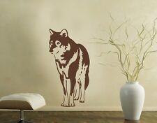 Wolf Wall Decal, sticker, mural vinyl home décor
