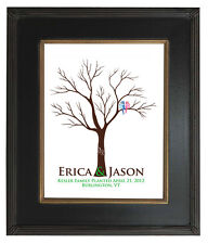 16x20 Wedding Guestbook FINGERPRINT TREE, WEDDING GIFT, Custom Print TREE 104