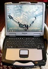 Panasonic Toughbook CF-30 GPS, BACKLIT, WIRELESS LOADED WIN 7 READY TO USE