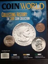 """Coin World Magazine """"Collecting History: $100 Dollar Coin Collection"""" March 2014"""