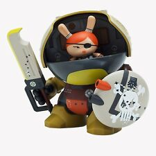 Penelope McStompsalot KidRobot 8 Inch Green Dunny by Huck Gee Mint New in Box