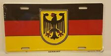 GERMANY   VINTAGE METAL AUTO TAG LICENSE PLATE NOVELTY