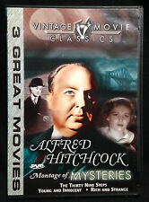 Alfred Hitchcock - Montage of Mysteries (DVD 2003) 39 Steps, Young & Innocent, +
