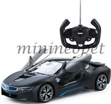 RASTAR 71000 R/C RADIO REMOTE CONTROL CAR BMW i8 1/14 BLACK
