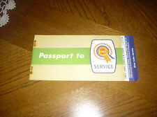 BMC PASSPORT TO SERVICE AUSTIN MORRIS J4, J2, LD, FG NEW OLD STOCK