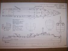 USS ASHLAND ship boat model boat plans