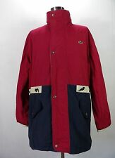 Very Rare Superb VTG LACOSTE Parka, 450£RRP Raincoat, Size XL,XXL Yachting ND392