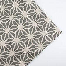 150x50cm Diamond patchwork linen cotton fabric table plain quilt DIY sew cloth