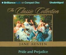 PRIDE AND PREJUDICE unabridged audio book on CD by JANE AUSTEN