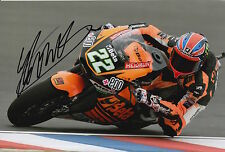 Sam Lowes Hand Signed Speed Up Racing 12x8 Photo 2015 Moto2 23.
