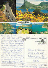 1995 MULTI VIEWS OF CHAPMANS PEAK SOUTH AFRICA COLOUR POSTCARD