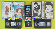 box 2 VHS MADONNA The ultimate collection 1999 WARNER 67+55 MINS no cd mc(VM3)