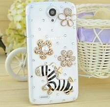 Bling Clear Crystal Diamonds Soft TPU back Ultra-thin Phone Case Cover Skin B-1