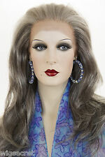 Long Mid Lace Front Hand Tied Wavy Wigs By Wig Pro For a Flawless Hairline