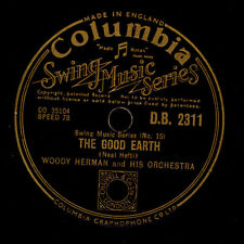 WOODY HERMAN & HIS ORCH. The good earth / Panacea  Schellackplatte 78rpm  X677