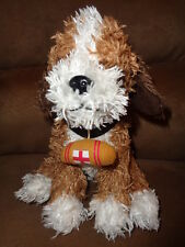 "Dog St Bernard Cheesecake Factory Bernie 8"" Stuffed Plush Herrington Teddy Bear"